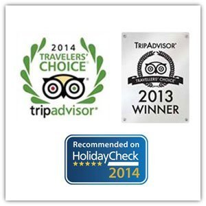 tripadvisor travelers chioce award holidaycheck quality selection