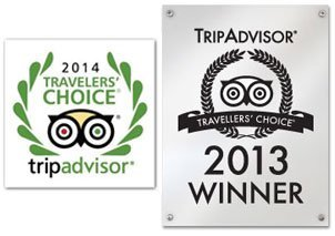 Pension Ria Tripadvisor Travellers Choice Awards 2013 - 2014