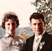 Ria und Erwin - Hochzeit in Maria Wörth 1956