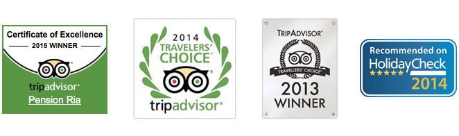 Ria Tripadvisor Holidaycheck Awards