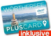 Woerthersee Plus Card inklusive